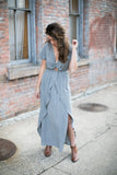 Sara Tulip Maxi Dress - STONE AND WILLOW