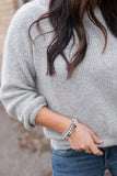 Cozy Knit Sweater - STONE AND WILLOW