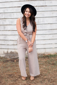 Jolie Jumpsuit - STONE AND WILLOW