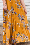 You are my Sunshine Floral Maxi Dress - FINAL SALE