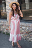 Sadie Striped Midi
