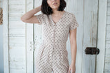 On the Dot Jumpsuit - STONE AND WILLOW
