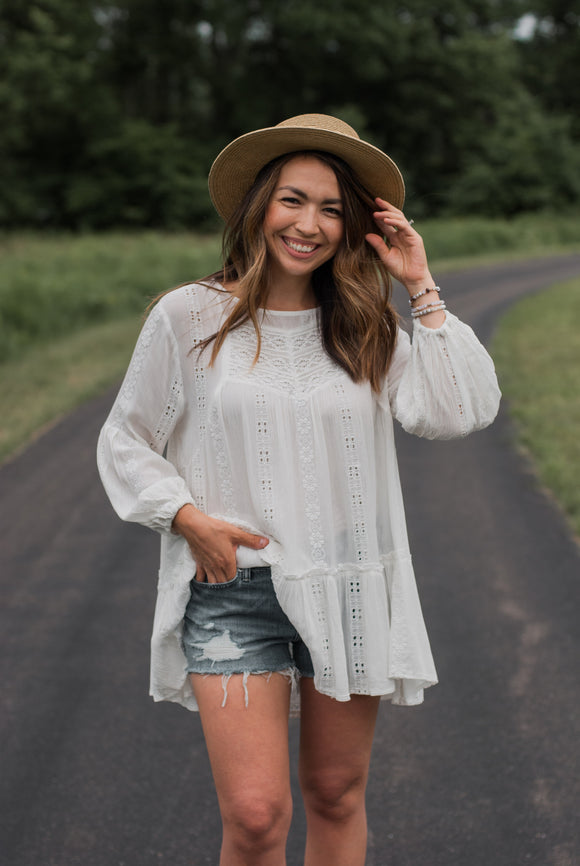 Reese Embroidered Tunic