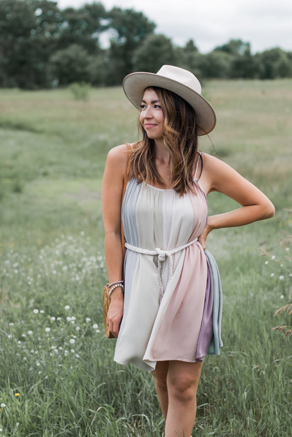 Skye Color Block Dress