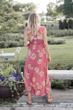 Lena Floral Maxi Dress - STONE AND WILLOW