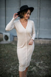 Mari Ribbed Sweater Dress - FINAL SALE