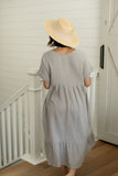 Haze Midi Gauze Dress