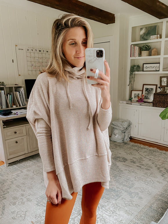 Shea Thermal Cowl Neck Top