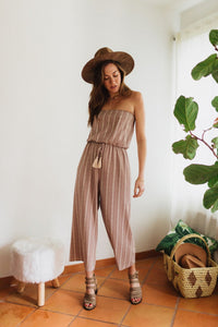 Stuck In The Desert Jumpsuit - STONE AND WILLOW