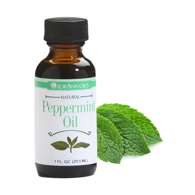 LorAnn Oils Peppermint Oil, Natural  - 1 OZ