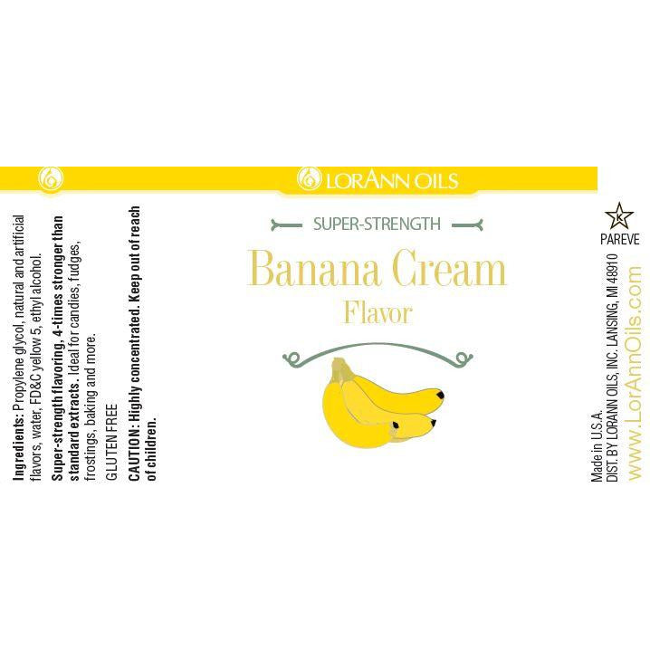 LorAnn Oils Banana Cream Flavor  - 1 OZ