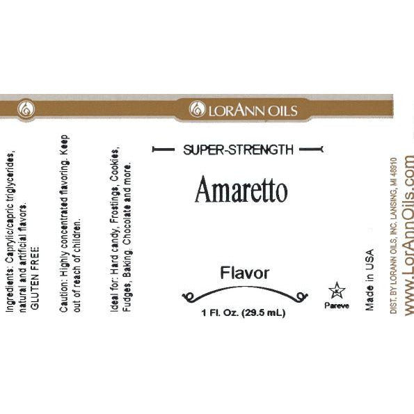 LorAnn Oils Amaretto Flavor  - 1 OZ