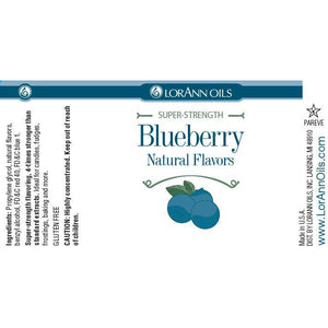 LorAnn Oils Blueberry Flavor, Natural  - 1 OZ