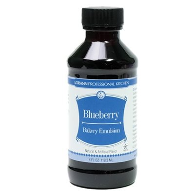 LorAnn Oils Blueberry, Bakery Emulsion   - 4 OZ