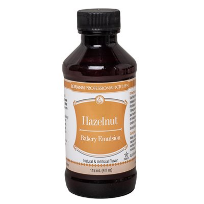LorAnn Oils Hazelnut, Bakery Emulsion   - 16 OZ