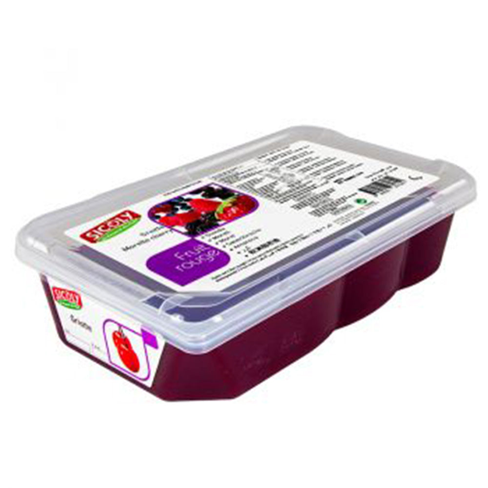 Frozen Morello Cherry Fruit Puree x 1 kg