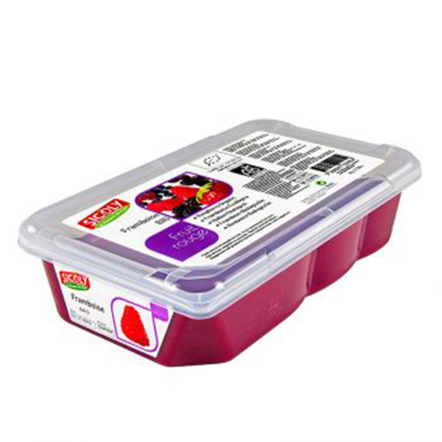 Frozen Raspberry Fruit Puree x 1 kg