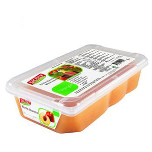Frozen White Peach Fruit Puree x 1 kg
