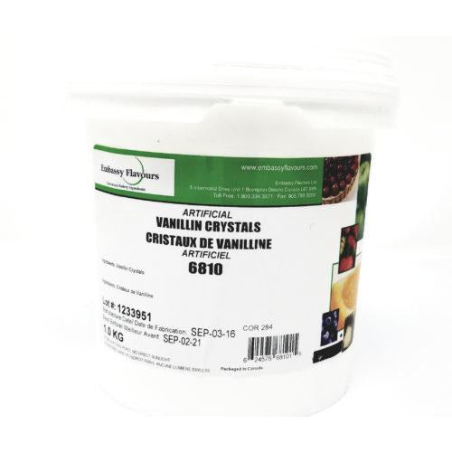 Artificial Vanillin Crystals 1kg