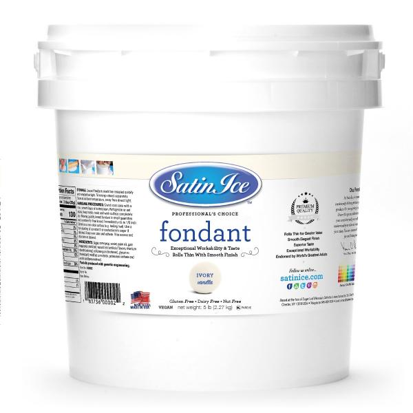 Satin Ice White Fondant, 10 kg