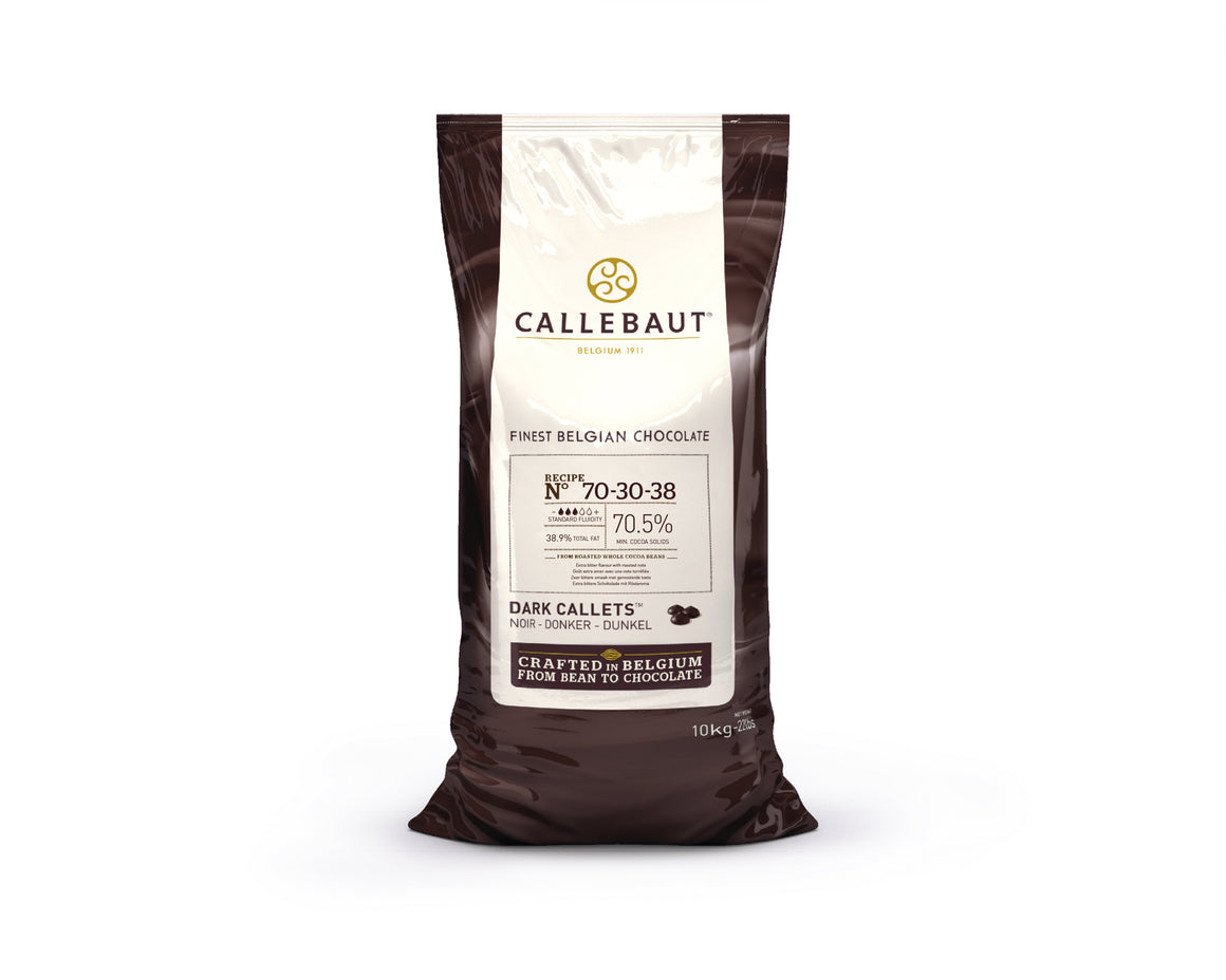 Callebaut Finest Belgian Dark Chocolate 70-30 10 kg