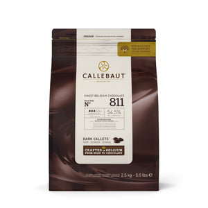 Callebaut Finest Belgian Dark Chocolate 811 2.5 kg