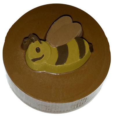 Bumble Bee Round Sandwich Cookie Chocolate Mold