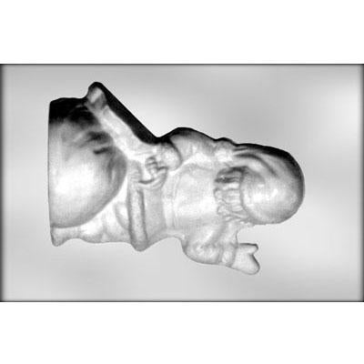"Santa (Back) 10"" Chocolate Mold"