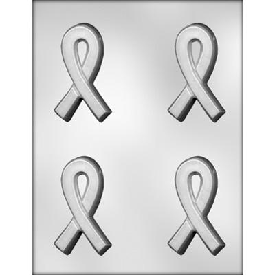 Awareness Ribbon Thick Chocolate Mold