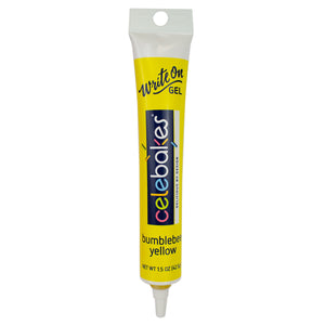 Bumblebee Yellow Write-On Gel, 1.5 oz