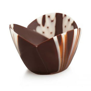 Butter Marbled Chocolate Cup