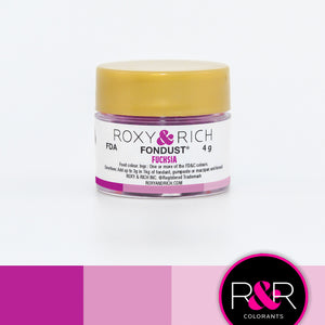 Roxy & Rich Fuchsia Fondust Colors (# F-019) 4 g