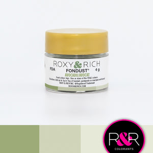 Roxy & Rich Avocado Fondust  (# F-026) 4 G