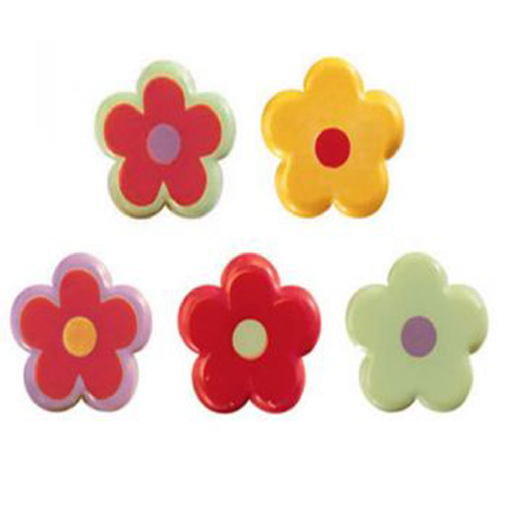 Flowers White Chocolate Decoration Assorted (DE159)