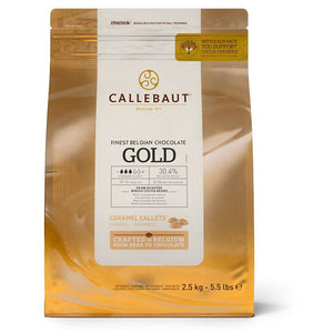 Callebaut Gold Chocolate Min.30% Cocoa