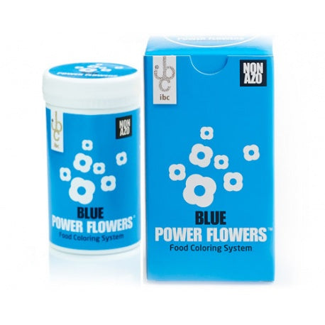 Ibc Power Flowers – Blue – Cocoa Butter – Non Azo,  50 gr