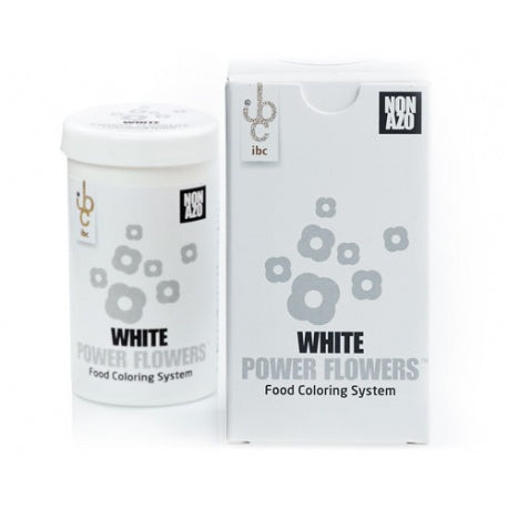 Ibc Power Flowers – White – Cocoa Butter – Non Azo, 50 gr