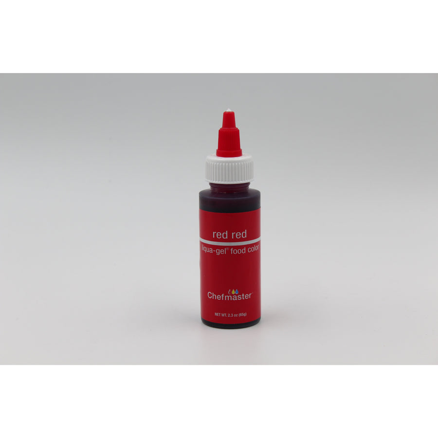 Chefmaster Red Red Liqua-Gel Food Coloring (# 5061) 2.3 OZ