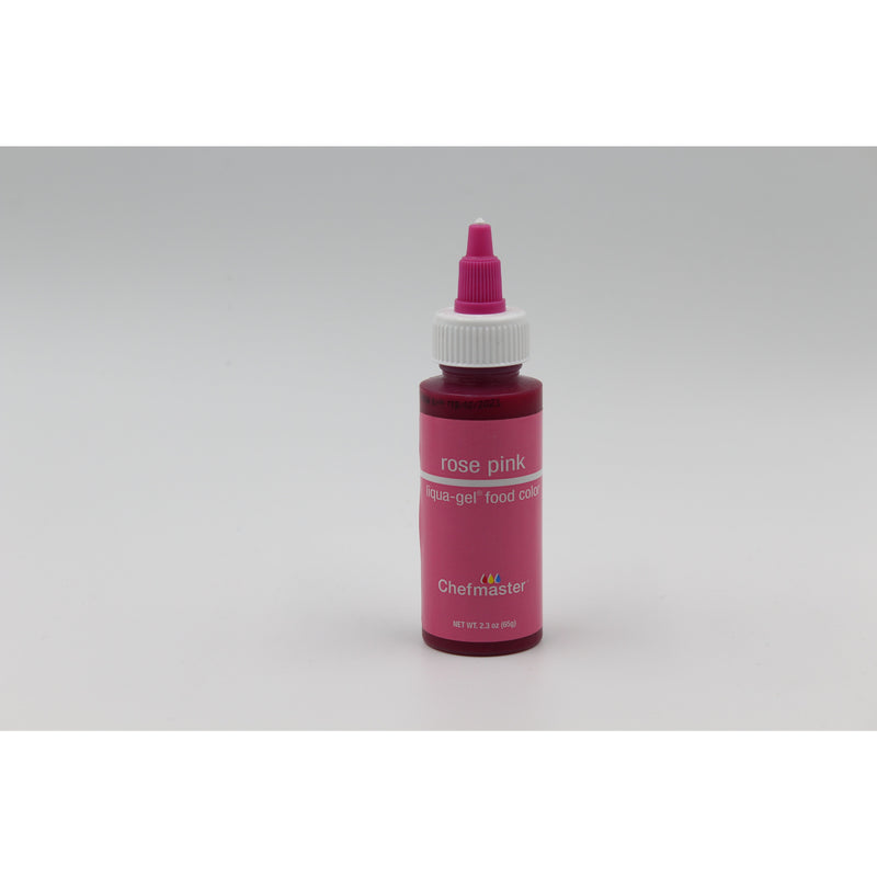 Chefmaster Rose Pink Liqua-Gel Food Coloring (