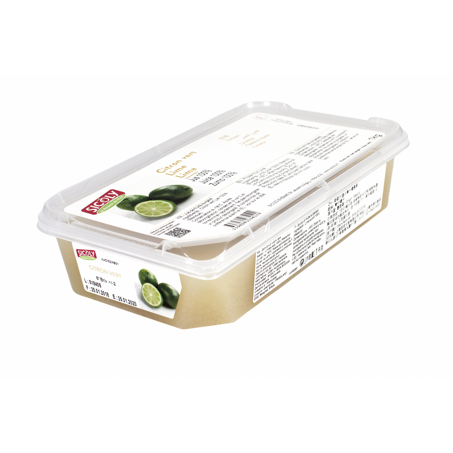 Frozen Lime Fruit Puree x 1 kg