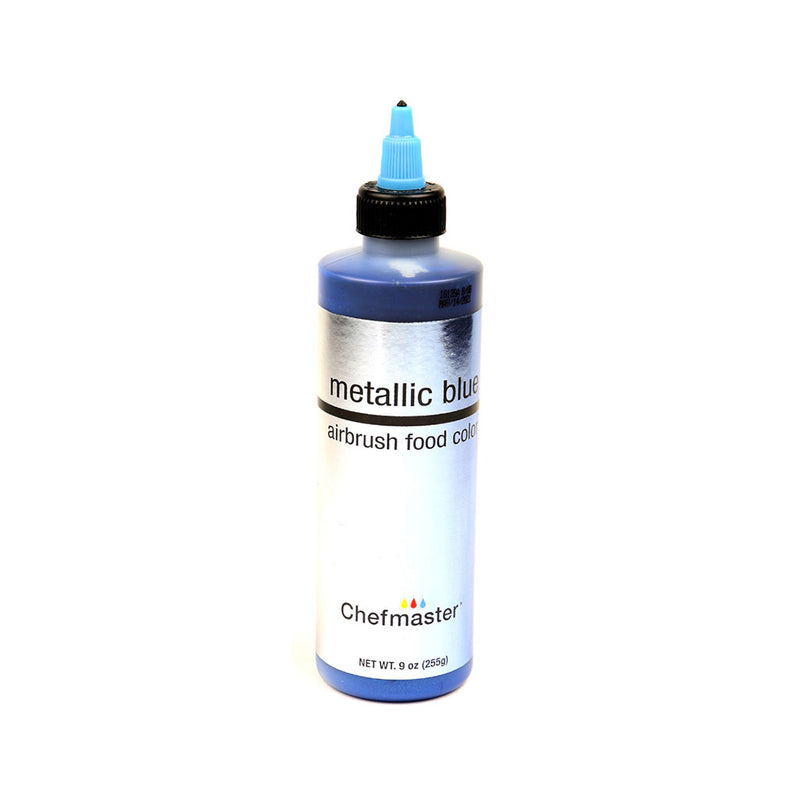 Chefmaster Metallic Blue Airbrush Food Coloring (