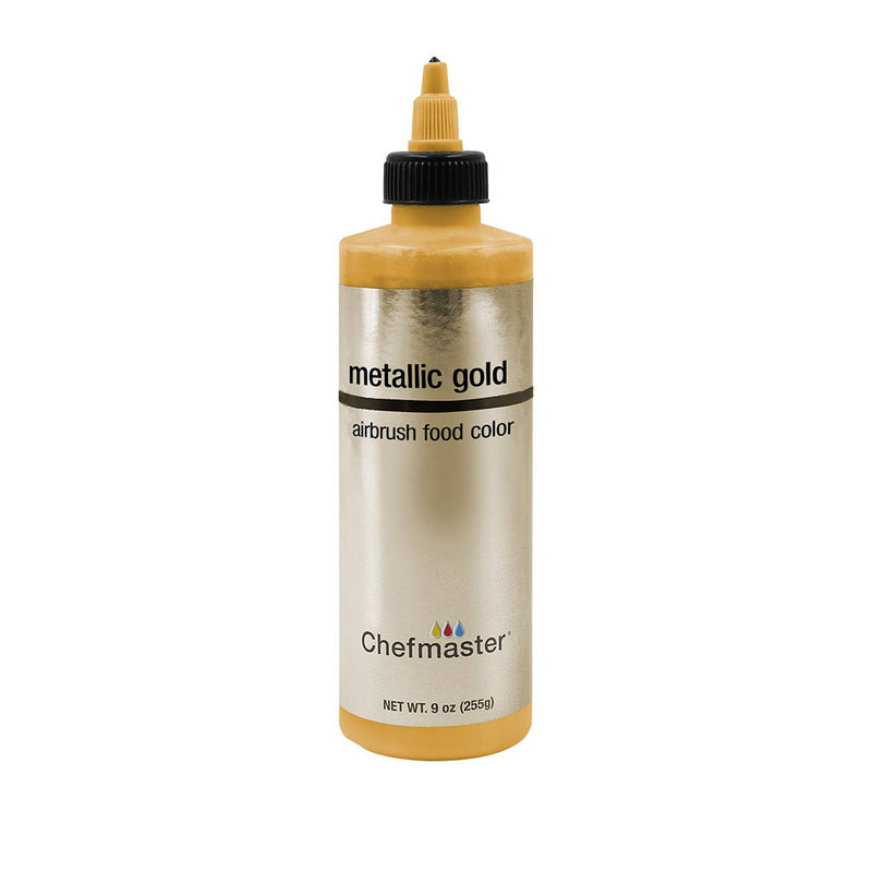Chefmaster Metallic Gold Airbrush Food Coloring (