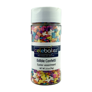 Mini Easter Assortment Edible Confetti, 2.6 oz (73.7 g)