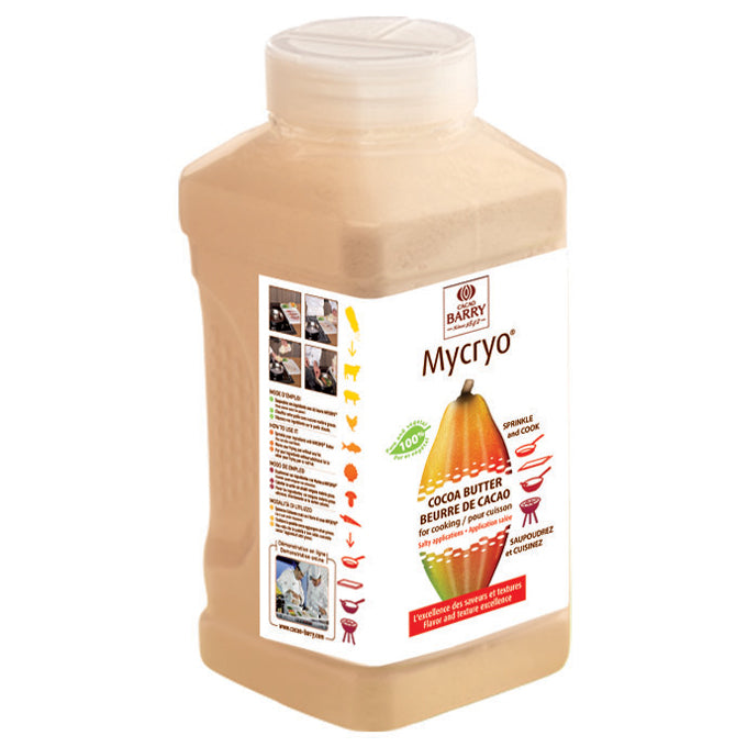 Cacao Barry MYCRYO 100% Cocoa Butter 550 grams