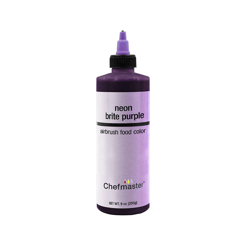 Chefmaster Neon Brite Purple Airbrush Food Coloring (