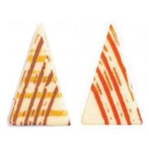 White Chocolate Assorted Triangles