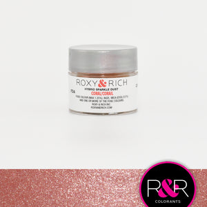 Roxy & Rich Hybrid Sparkle Dust Coral (#S2-015) - 2.5 gm