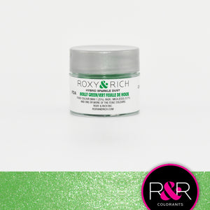 Roxy & Rich Hybrid Sparkle Dust Holly Green (#S2-037) - 2.5 gm