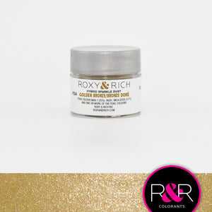 Roxy & Rich Hybrid Sparkle Dust Golden Bronze (#S2-051) - 2.5 gm