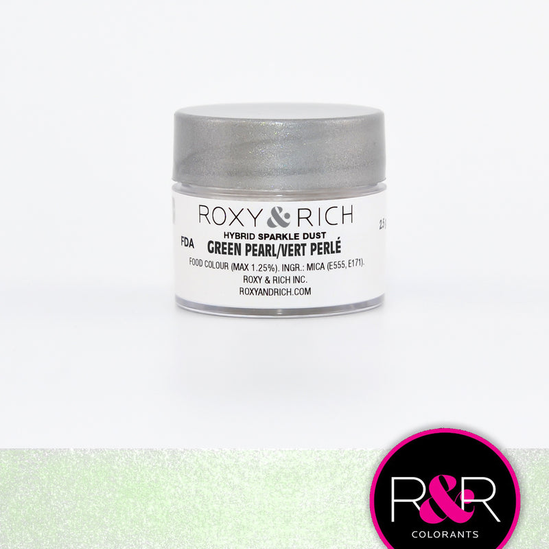 Roxy & Rich Hybrid Sparkle Dust Green Pearl (